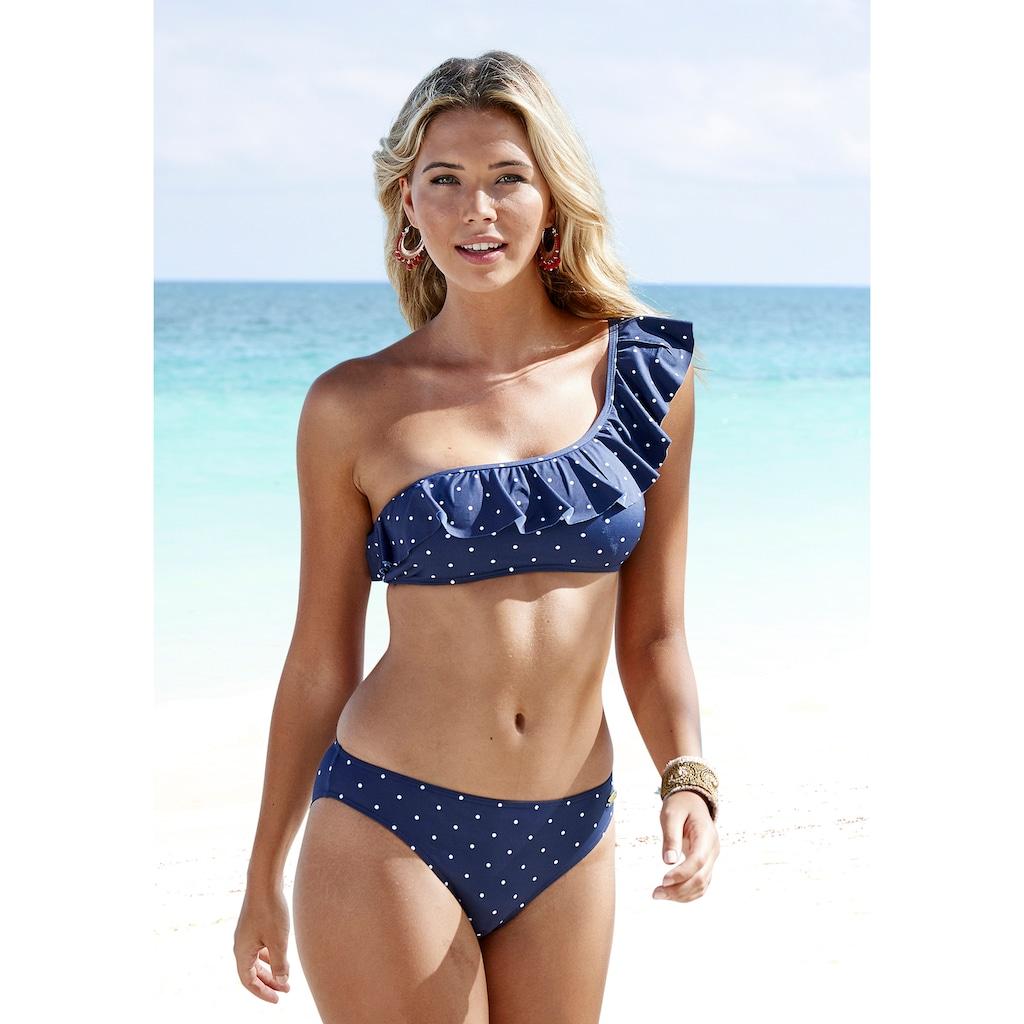 LASCANA Bustier-Bikini-Top »Sparkel«