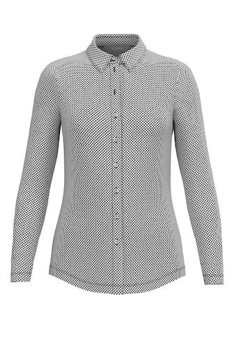 bianca Hemdbluse »ADELA«, im stylischen Mini-Vichy Dessin in schwarz/weiß kaufen