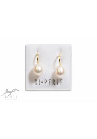 DI PERLE Paar Ohrhänger »925 Silber Süsswasser Perlen Ohrhänger«, Damen Perlenschmuck kaufen
