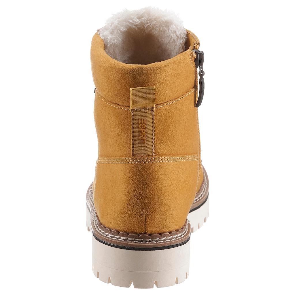 Esprit Winterboots »SIENA TEX BOOTIE«