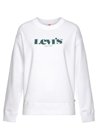 Levi's® Sweatshirt »Graphic Standart Crew«, mit großem Logo-Druck kaufen