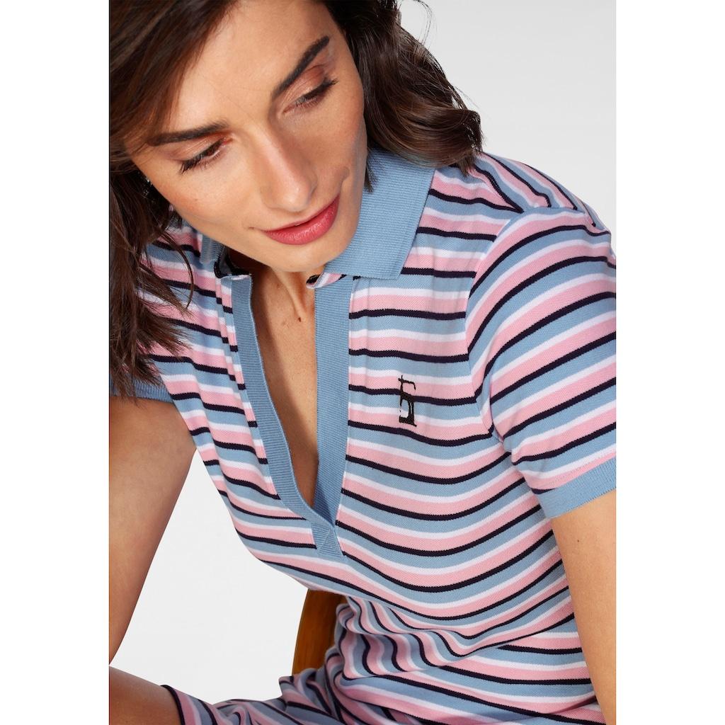 H.I.S Shirtkleid »Polokleid«, mit offener Knopfleiste von H.I.S