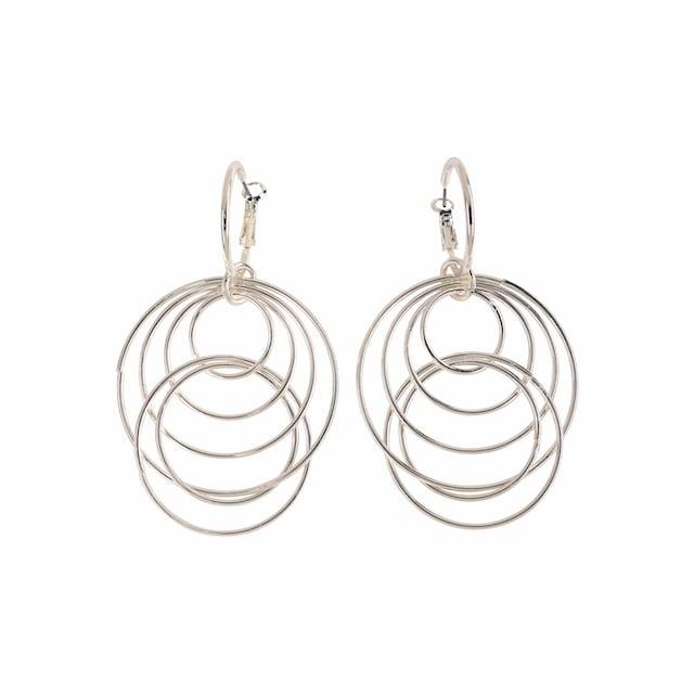 J.Jayz Paar Ohrhänger »mit beweglichen Ringen«