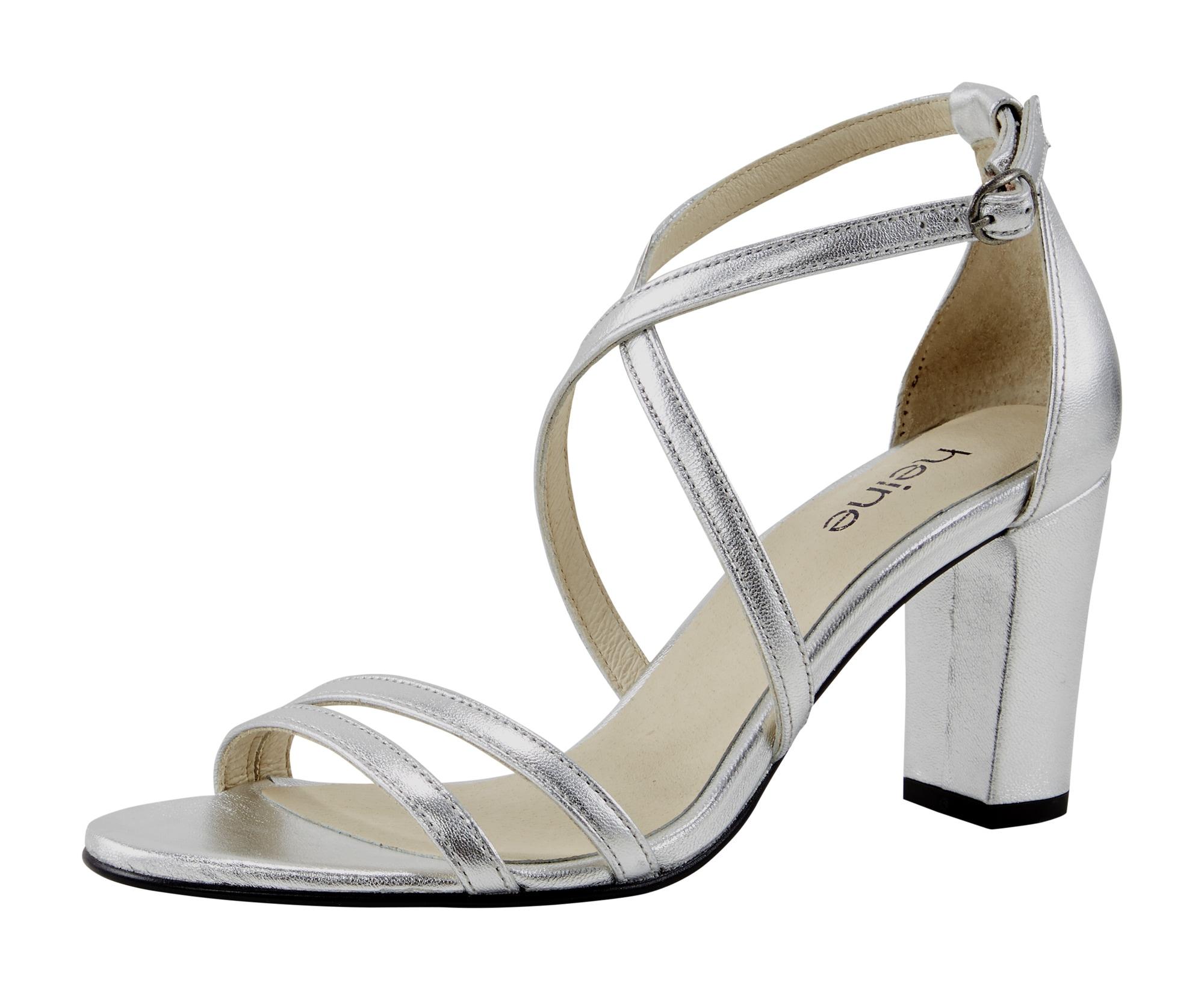 heine - Sandalette mit filligranen Riemchen