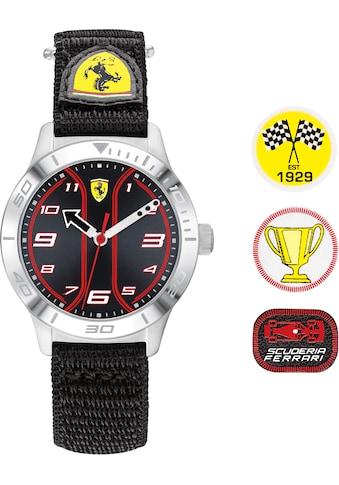 Scuderia Ferrari Quarzuhr »Kids Academy, 0810022«, (Set, 4 tlg., mit 3 coolen... kaufen