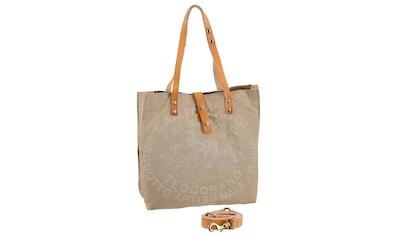 Campomaggi Shopper »Genziana«, in toller Materialkombination kaufen