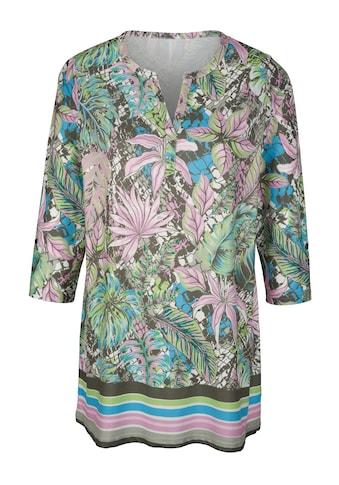 m. collection Longshirt, rundum bedruckt kaufen