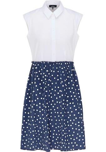 Daniel Hechter Hemdblusenkleid, 2 in 1 Kleid - Blusentop mit Rock kaufen