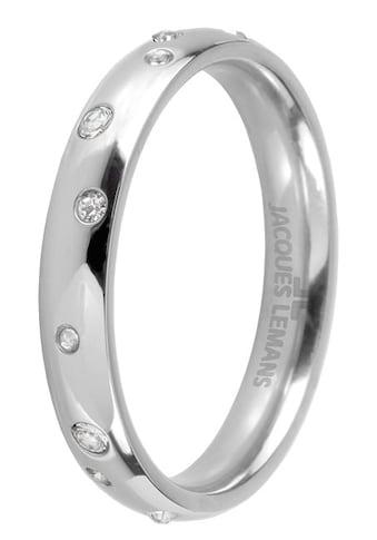 Jacques Lemans Fingerring »S-R61A52,54,56,58«, mit Kristallstein kaufen