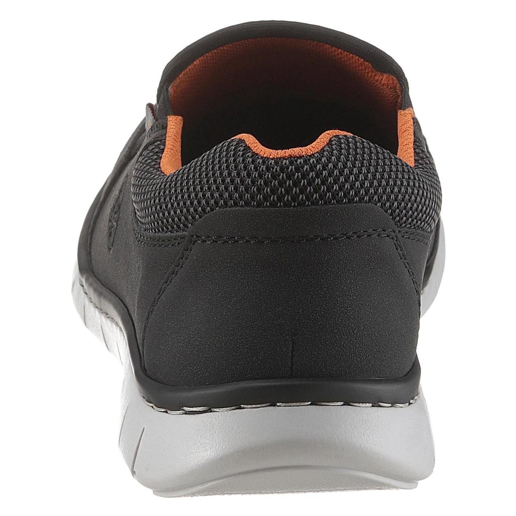 Rieker Slip-On Sneaker, mit heller Laufsohle