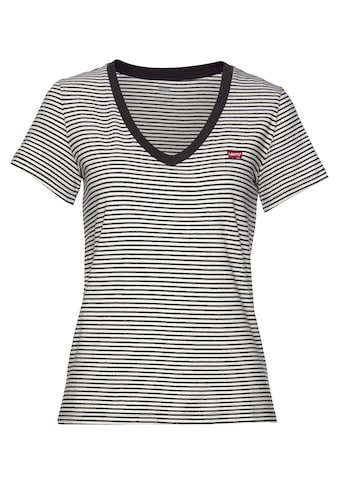 Levi's® V-Shirt, mit Mini-Batwing-Logostickerei kaufen