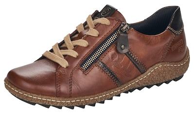 Remonte Schnürschuh, mit dezenter Musterprägung kaufen