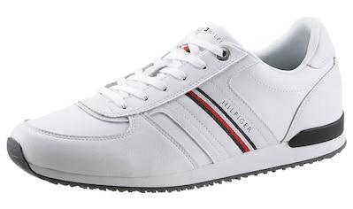 Tommy Hilfiger Sneaker »ICONIC LEATHER RUNNER STRIPES«, mit seitlichen Streifen kaufen