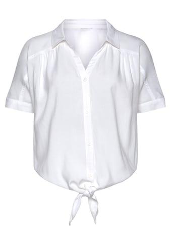 Buffalo Hemdbluse, mit Knotendetail kaufen
