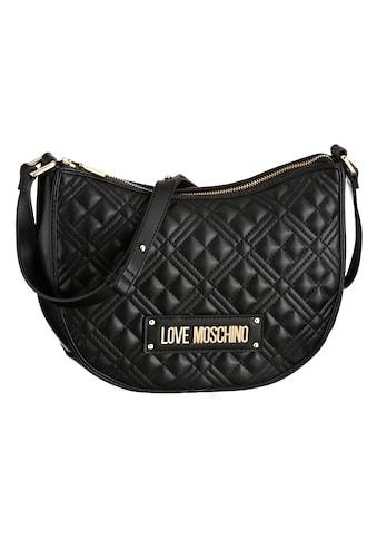 LOVE MOSCHINO Hobo, mit modischer Steppung kaufen
