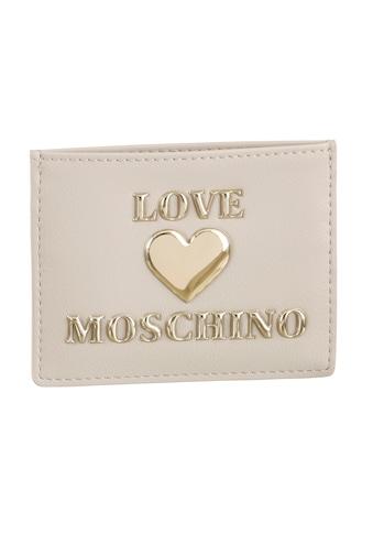 LOVE MOSCHINO Kartenetui, mit goldfarbenen Details kaufen