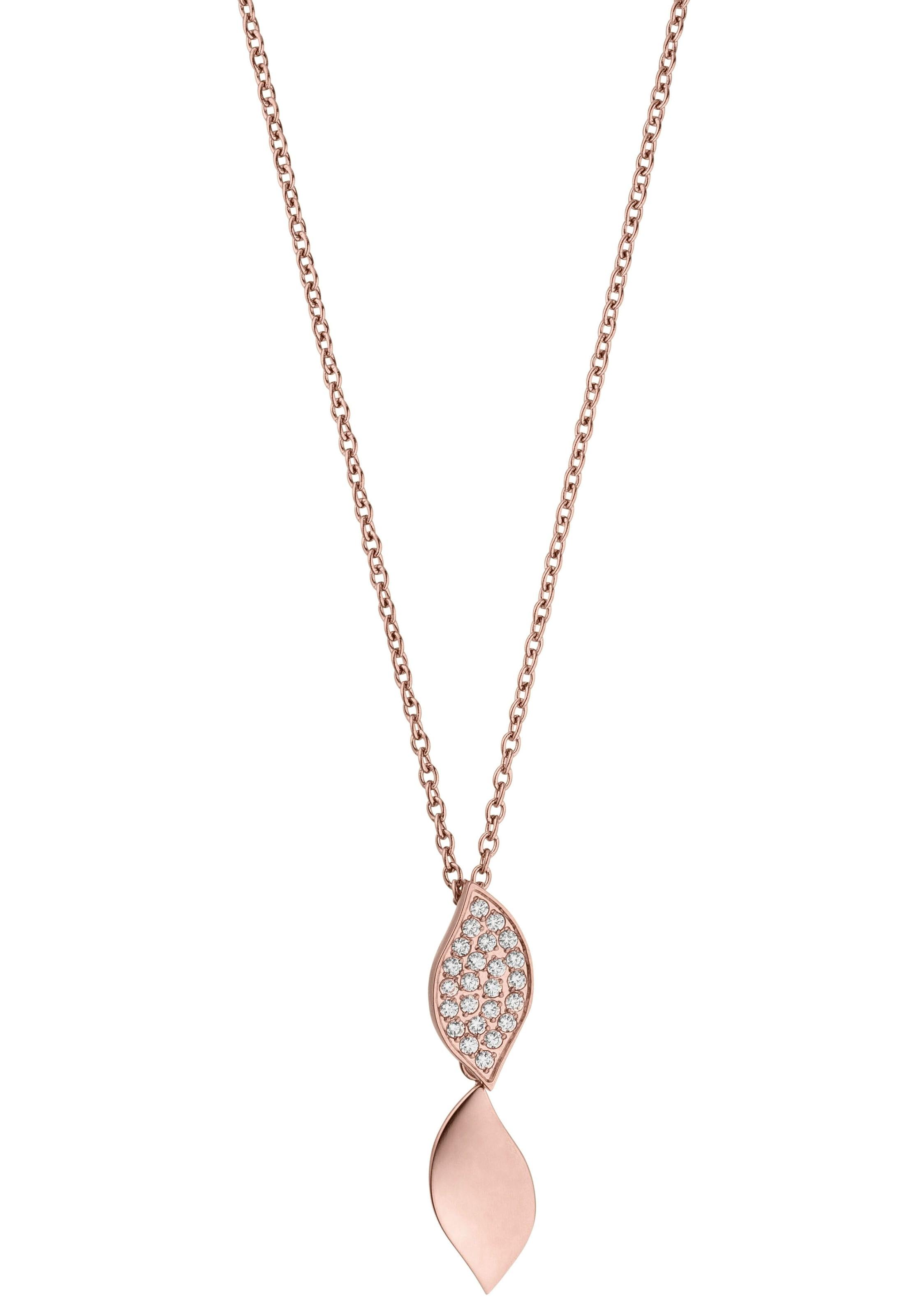 tamaris kette mit anhnger julia tj217 Elegante Halskette im filigranem Blätter Design oyHh7