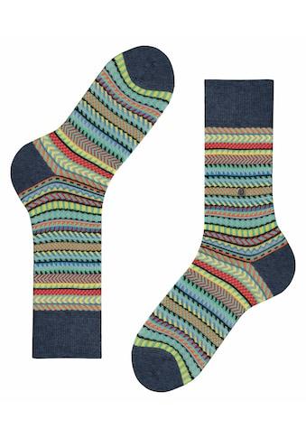 Burlington Socken »Digital Fair Isle«, (1 Paar), ein pflegeleichtes Material kaufen