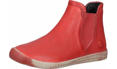 softinos Stiefelette »Leder/Textil« kaufen