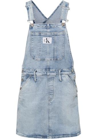 Calvin Klein Jeans Latzkleid »DUNGAREE DRESS«, im typischen Marken-Design von Calvin Klein Jeans kaufen