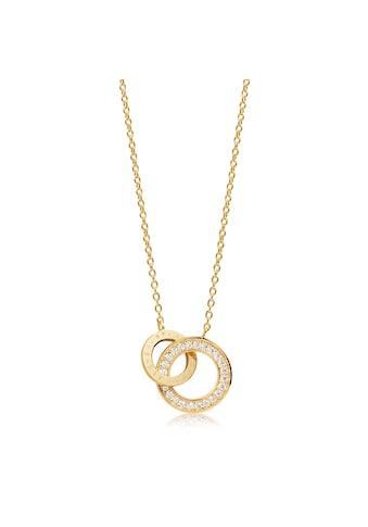 Sif Jakobs Jewellery Halskette 18K vergoldet mit weißen gefassten Zirkonia »PRATO DUE« kaufen