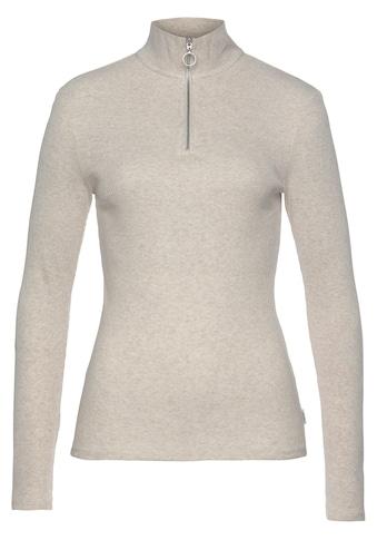 Marc O'Polo DENIM Stehkragenshirt, aus Organic Cotton-Jersey kaufen