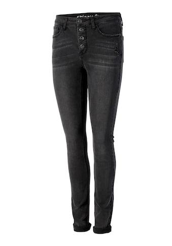 Aniston CASUAL Skinny-fit-Jeans, regular waist kaufen