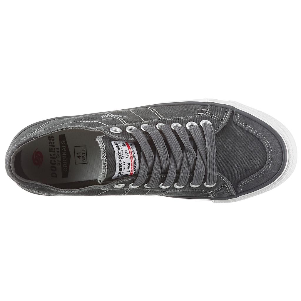 Dockers by Gerli Slip-On Sneaker, mit leichter Gummilaufsohle