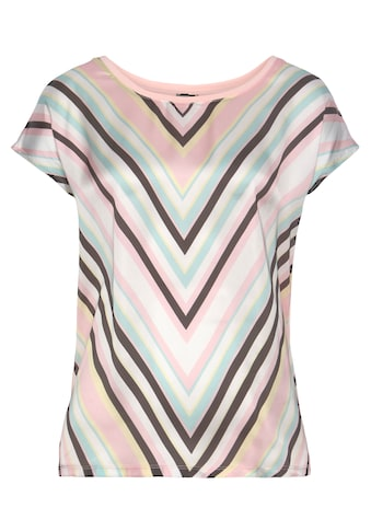Laura Scott Shirtbluse, in modischem Materialmix - NEUE FARBEN kaufen