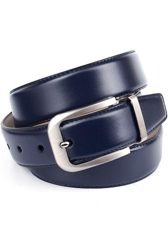 Anthoni Crown Ledergürtel, im klassischen Design, Glattleder kaufen