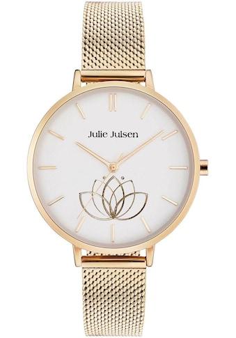 Julie Julsen Quarzuhr »LOTUS FLOWER GOLD, JJW1100GME« kaufen