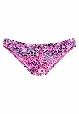 Buffalo Bikini-Hose »Shari«, mit geflochtenem Ziergürtel kaufen