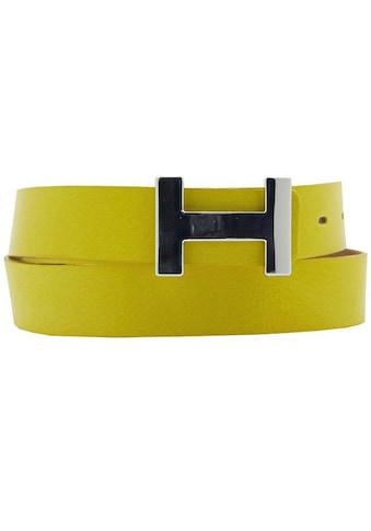 AnnaMatoni Koppelgürtel, Mit schlichter glänzender Gürtelschnalle kaufen