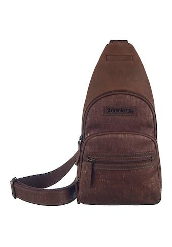 GreenLand Nature Cityrucksack »NATURE Leather-Cork«, Rechtsseitig oder linksseitig... kaufen