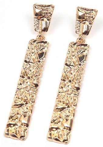 J.Jayz Paar Ohrstecker »langes Design, vergoldet« kaufen