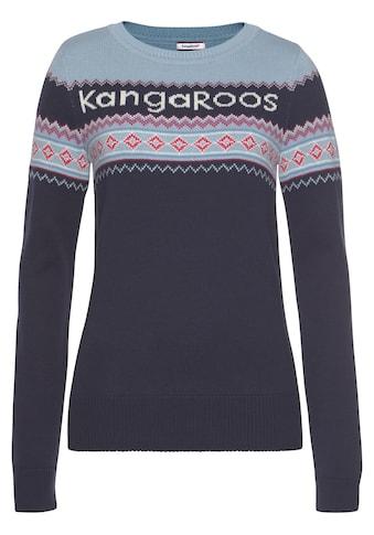 KangaROOS Norwegerpullover kaufen