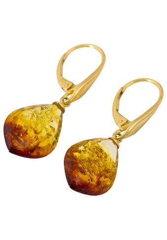 Firetti Paar Ohrhänger »Tropfen«, mit Bernstein kaufen