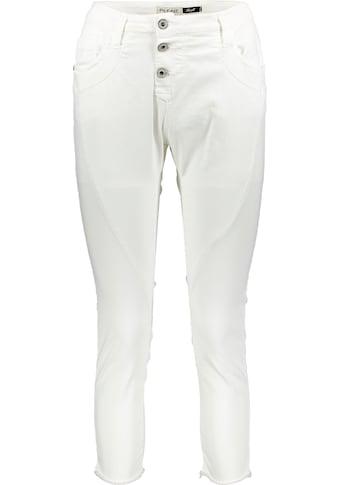 Please Jeans 7/8-Jeans »P78K«, mit ausgefranten Säumen kaufen