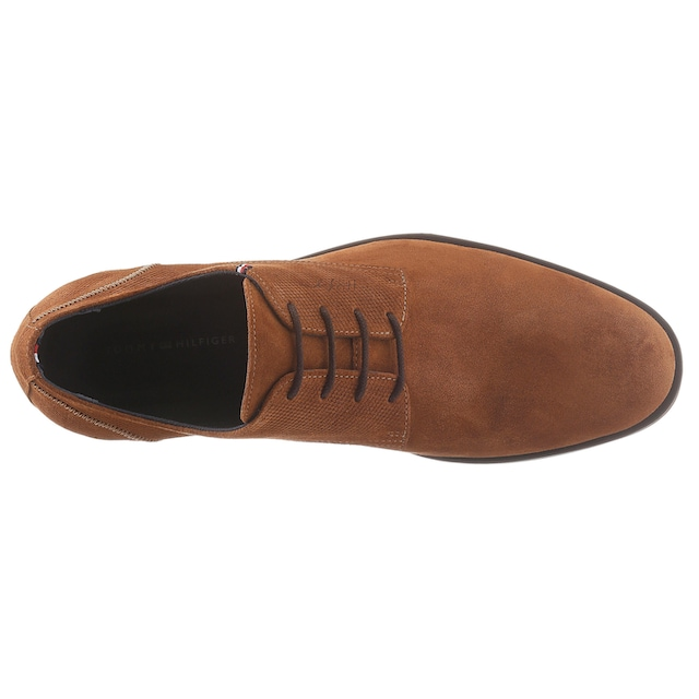 TOMMY HILFIGER Schnürschuh »CASUAL EMBOSSED SUEDE SHOE«