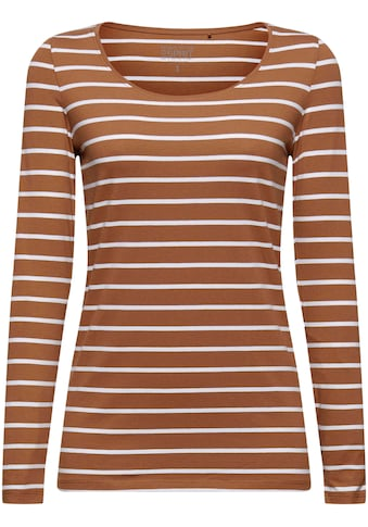 Esprit Langarmshirt, im zeitlosen Ringel-Look kaufen