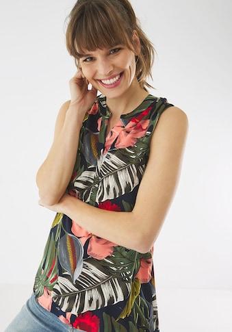 Mexx Druckbluse, mit tropischem Allover-Print kaufen
