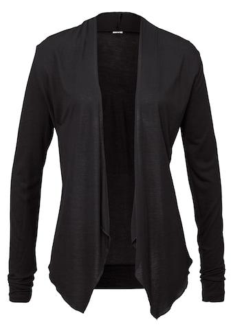 LASCANA Shirtjacke, in offener Form kaufen