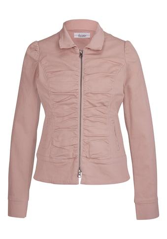 Jeansjacke mit 2 - Wege - Zipper kaufen