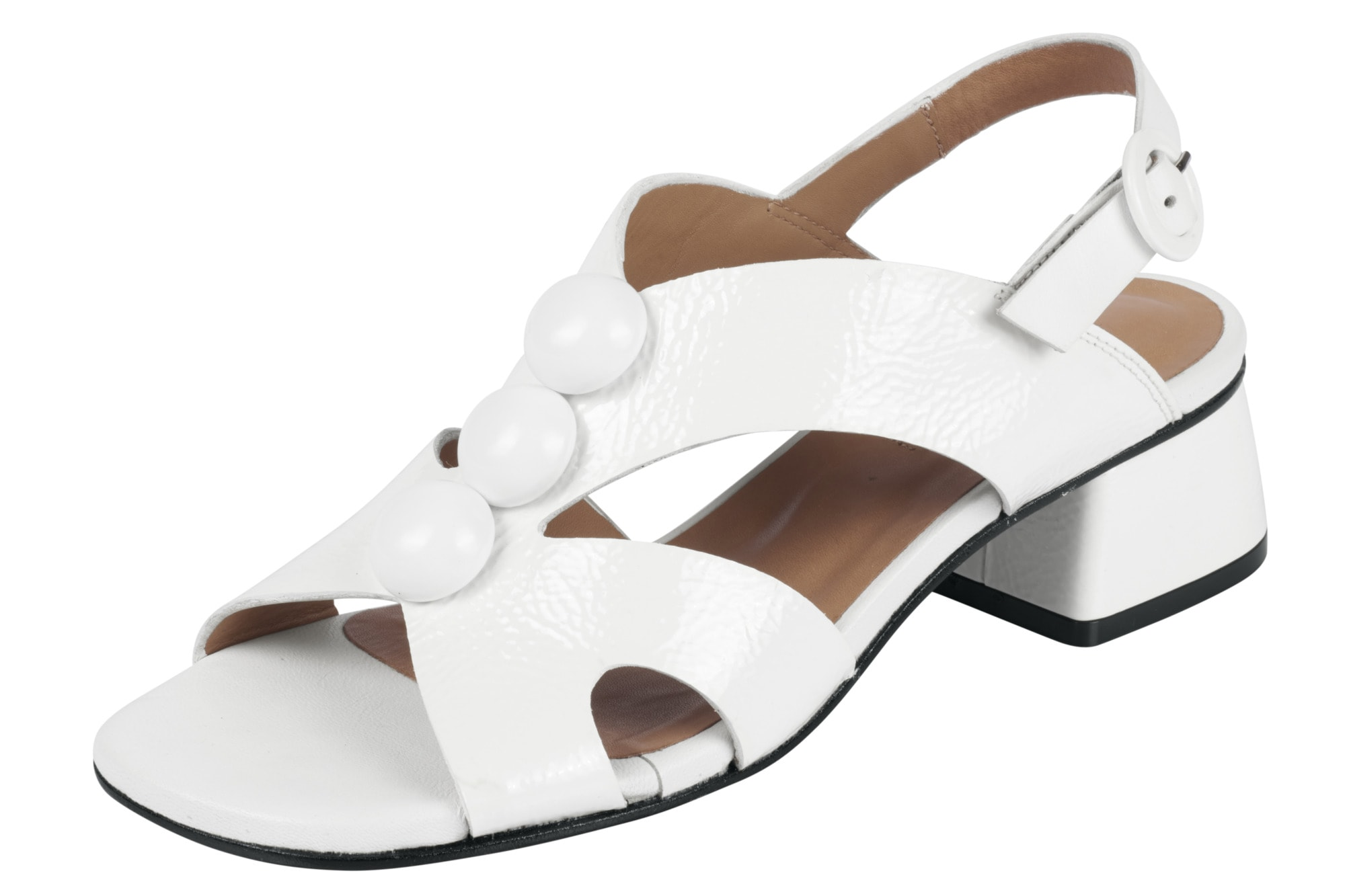 ZINDA Sandalette aus Lackleder