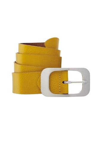 BERND GÖTZ Ledergürtel, mit edler Oberfläche und flächiger Schließe kaufen