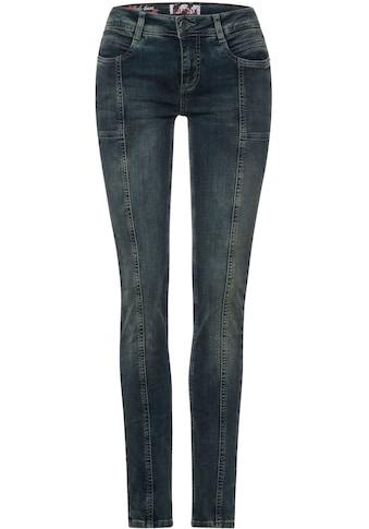 STREET ONE Slim-fit-Jeans »Style Jane«, mit modischen Teilungsnähten kaufen