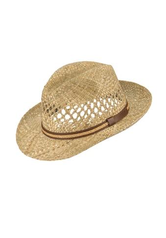 Chaplino Strohhut, mit Leder-Hutband kaufen