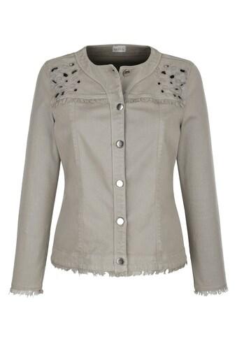 Mona Jeansjacke, mit modernen Details kaufen