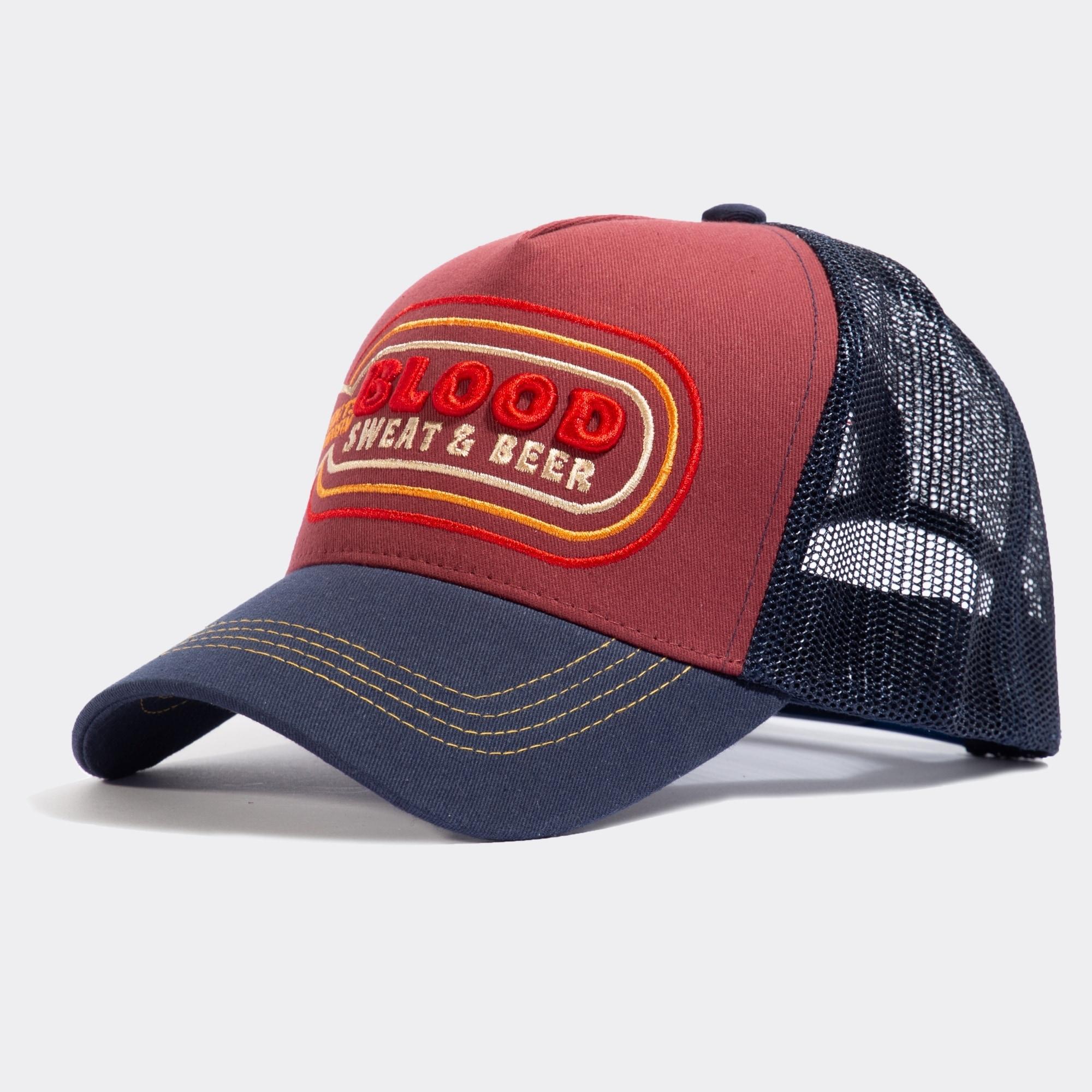 kingkerosin -  Trucker Cap Blood, mit Statement