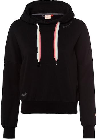 Ragwear Sweater »GOBBY«, mit Kordelzug im pastelligem Pride-Design kaufen